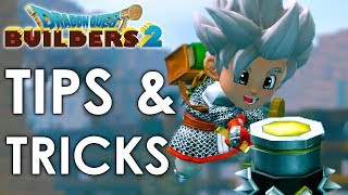 Dragon Quest Builders 2 - Tips & Tricks (For Beginners & Advanced)