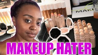 Make-Up Hater Wears Fenty For A Day by : Boldly