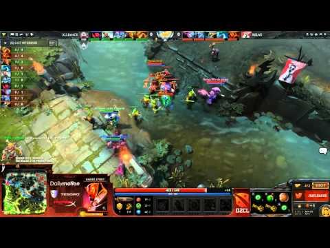 Alliance vs Relax  Game 2   Dota 2 Champion´s League   Capitalist & Ar1se