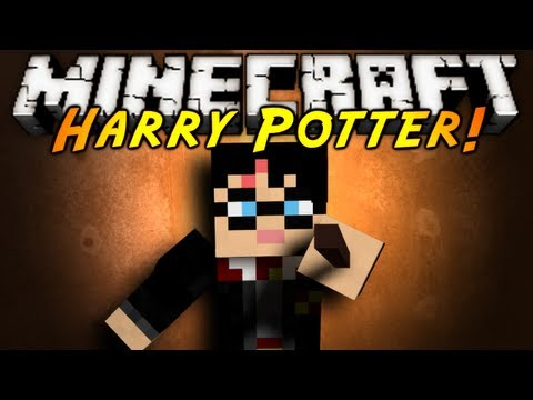Minecraft Mod Showcase : HARRY POTTER!