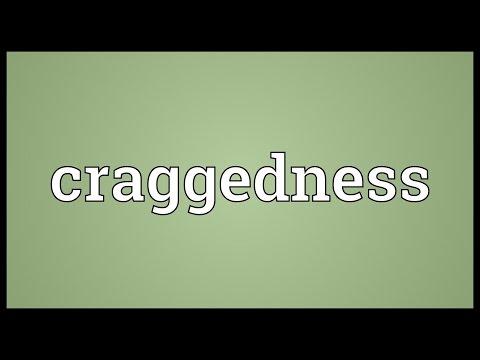 Header of craggedness