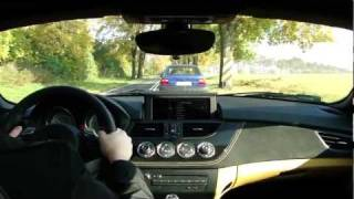BMW Z4 sDrive 35is E89 (DKG) - Driving on Tour