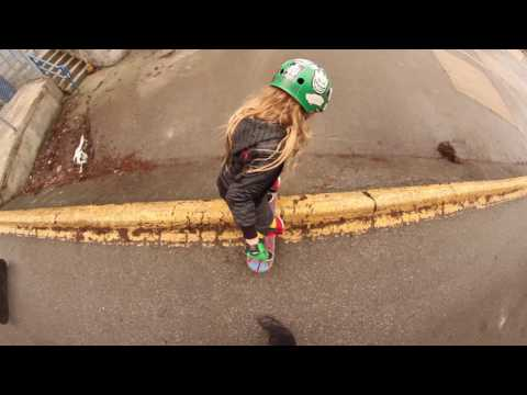 A Wintery Saturday Skateboarding with Big Rip   Kaelen Faux   Skate for Fun