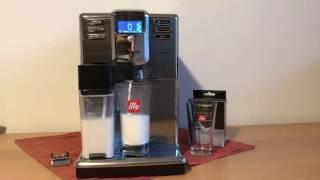 Saeco Incanto HD8918/09 Test, Latte Macchiato