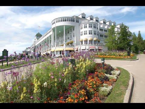 Sightseeing in Northern Michigan Mackinac Islands Grand Hotel - 9&10 News