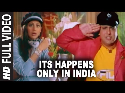 Its Happens Only In India Full Song | Pardesi Babu | Govinda, Shilpa Shetty video