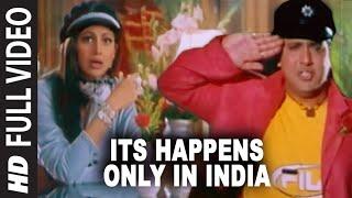 Its Happens Only In India Full Song | Pardesi Babu | Govinda, Shilpa ...