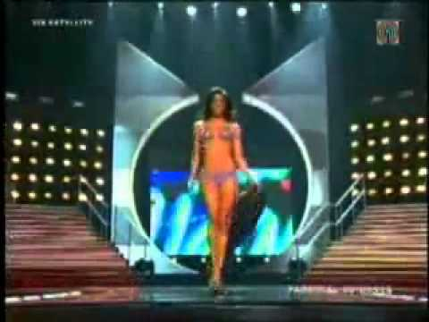 MISS UNIVERSE 2010 TOP 15 SWIMSUIT COMPETITION