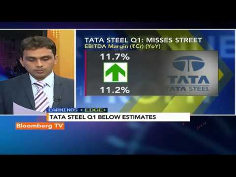 Earnings Edge- Tata Steel Q1 Profit Down 70%