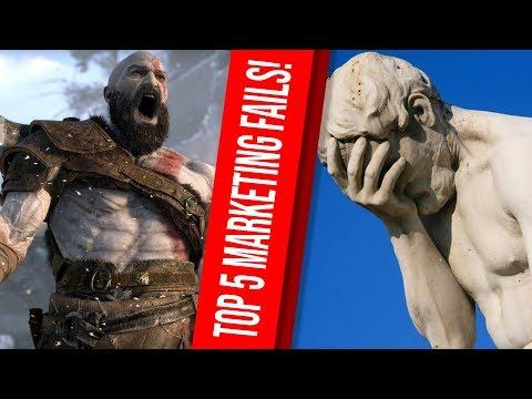 TOP 5 der peinlichsten Marketing-Fails der gesamten Videospielbranche!