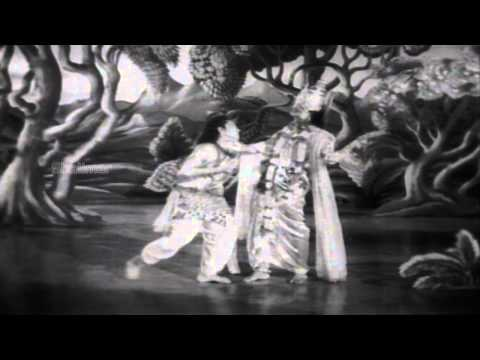 Maya Bazar (1957) Movie | Mohini Bhasmasura Dance Video Song...