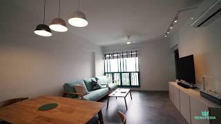 Interior Design Singapore | Beautiful Scandinavian Themed Home (Home Access Interior)