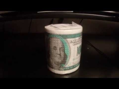 Туалетная бумага 100$ на ДоброДляБро.рф