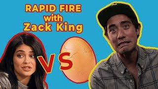 KYLIE JENNER OR THE EGG? ZACH KING RAPID FIRE INTERVIEW