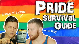 GAY PRIDE POINTERS for beginners