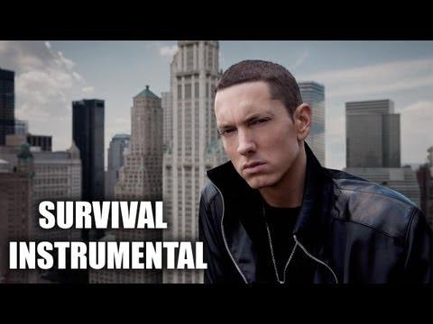 Eminem - Survival Instrumental (official Remake)   New Album 2013   Deep Rock Rap Beat   Syko Beats video