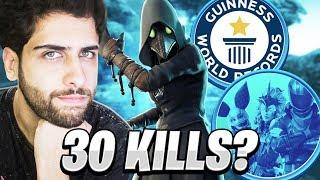 BATI MEU RECORDE DE KILLS NO FORTNITE?! (SOLO VS SQUAD)