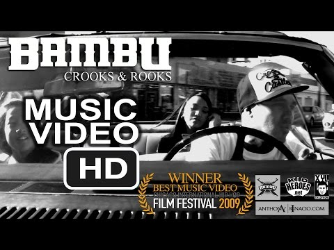 Bambu Crooks & Rooks Music Video [ Official UNCENSORED Version directed by Patricio Ginelsa ]