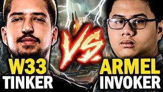 Is This TNC vs paiN Gaming Again? Armel Invoker + Tims Winter Wyvern vs w33 Tinker + misery Centaur