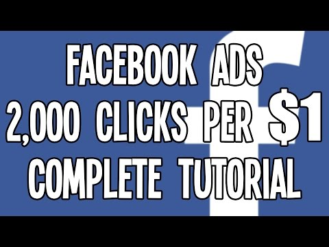 $0.0005 CPC Facebook Ads in the USA! November 2015 Facebook Advertising Tutorial