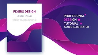 How to Make Liquid Gradient Color Flyers in Adobe Illustrator