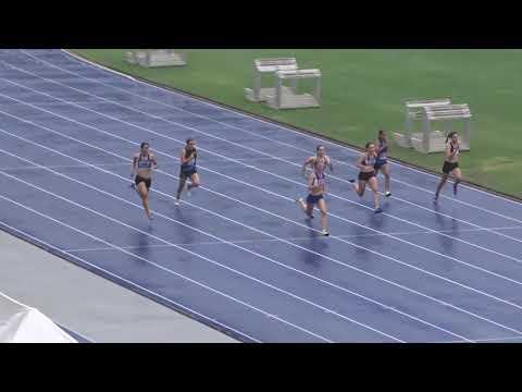 Ht1 100m U17yrs Girls Queensland Junior Athletics Championships QSAC 24022018