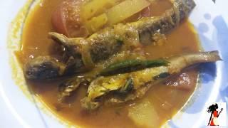 [টেংরা মাছের ঝোল সহজ উপায় পুরান ঢাকার স্টাইলে ] Tengra masher jol torcari recipe