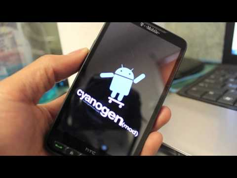 HTC HD2 Android Windows Phone 7 Dual Boot HD