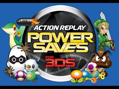 Cómo usar el dispositivo Action Replay Powersaves 3DS