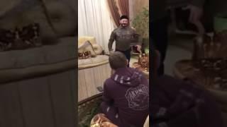 Кадыров и Галустян - репетиция номера для КВН