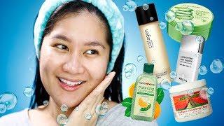 Tagalog Skincare Favorites Para sa mga SUPER OILY / ACNE PRONE SKIN   Kris Lumagui