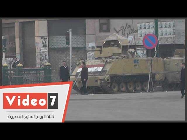 الجيش والشرطة يؤمنان ميادين مصر للتصدى لعنف الإخوان