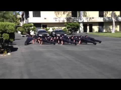 Golden West College Police Academy Recruits