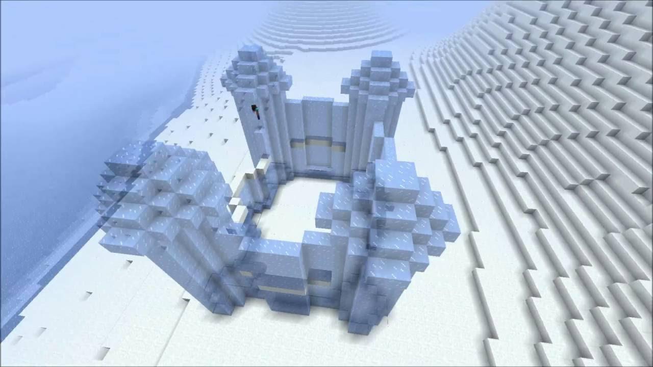 Minecraft Timelapse Frozen