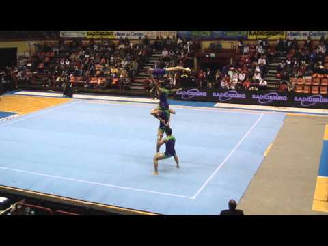 Acrobatic Gymnastics World Cup 2011 Bulgaria, Men's Group