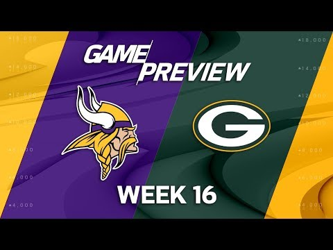 Minnesota Vikings vs. Green Bay Packers | NFL Week 16 Game Preview | Move the Sticks