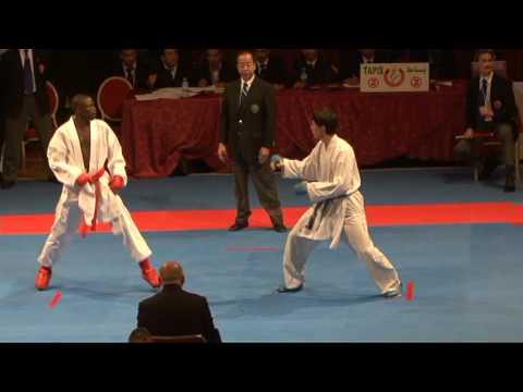 2009 WKF Jr Worlds -21 Men -68 Kg Aka Senegal vs Ao Kazakhstan...