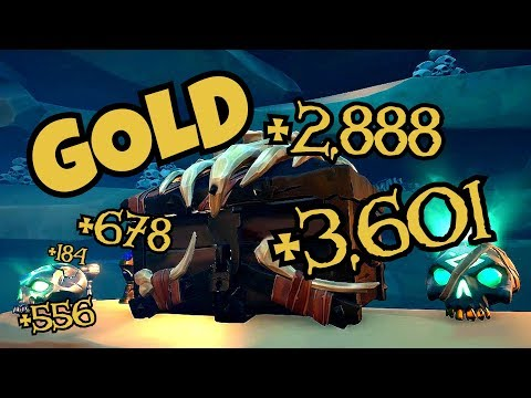 How To Make The MOST GOLD [Sea of Thieves]