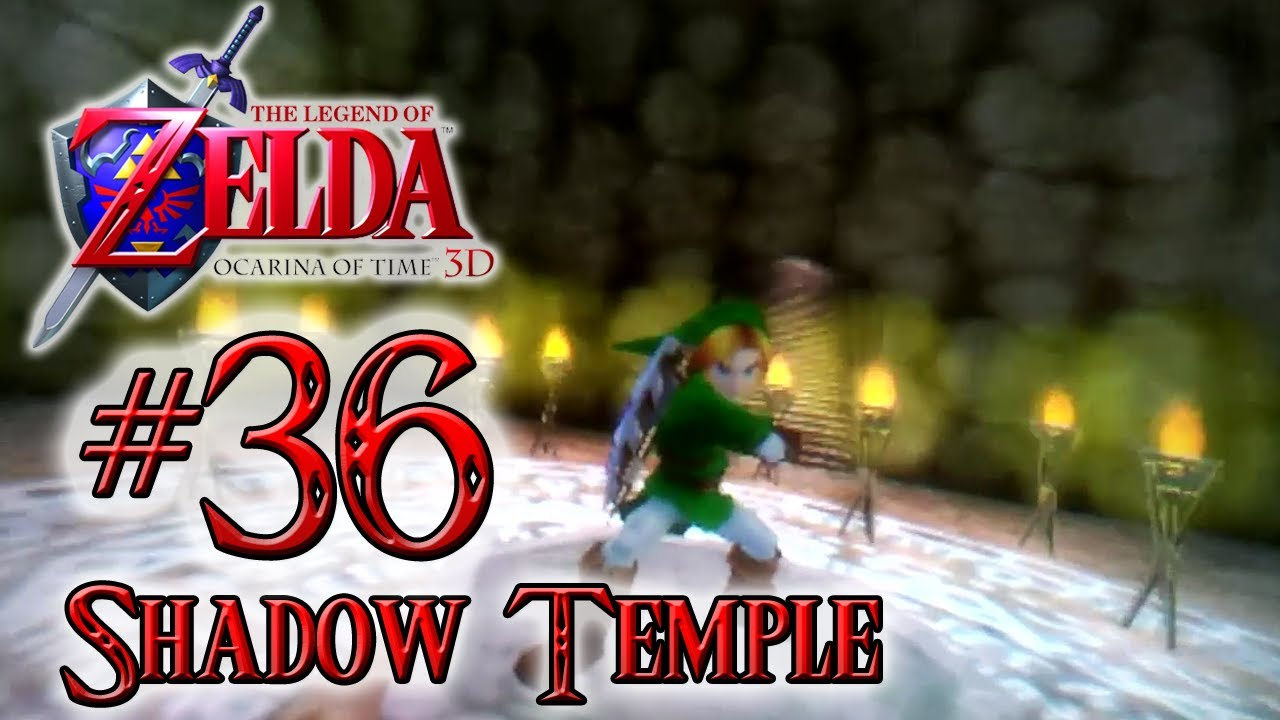 how to get in the shadow temple 3ds