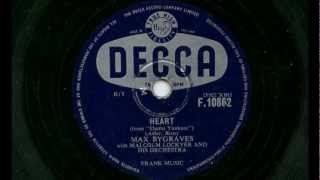 "Max Bygraves - Heart (""Damn Yankees"")"