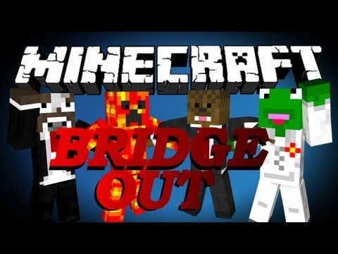 NEW Minecraft Bridge Out Battle BOB Minigame