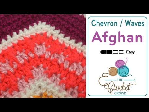 How to Crochet A Wave Afghan: Modified Front Post Trebles