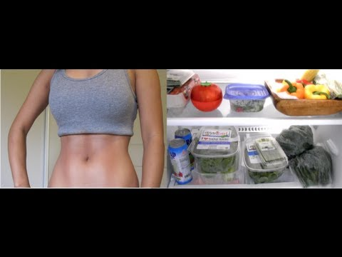 My FIT Fridge!  Sexy Loser (Fitness & Diet)