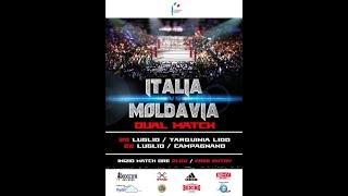Dual Match Italia vs Moldavia - Tarquinia 20/7/2018