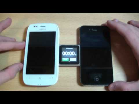 iPhone 4S vs Nokia Lumia 710 | Тест №1 Music Videos
