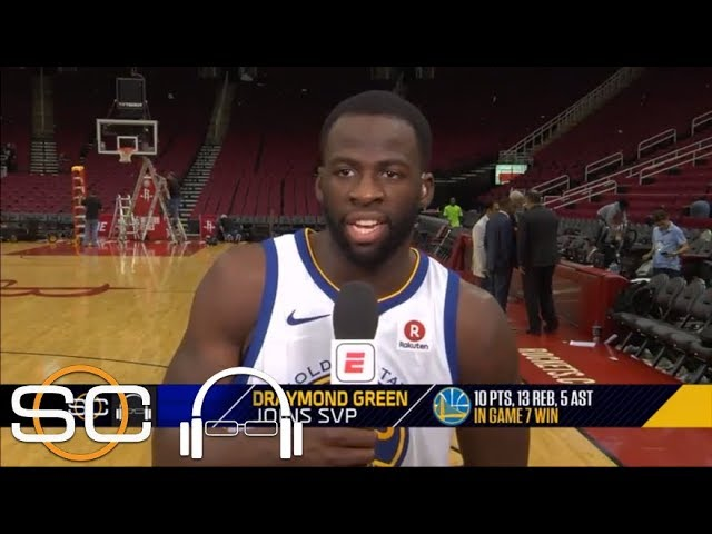 Draymond Green: 'There was never really a level of concern' during Game 7 | SC with SVP | ESPN