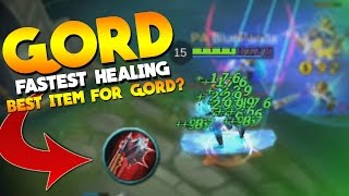 Mobile Legends Gord INSANE LIFESTEAL! (Bloodlust Axe New Meta?)
