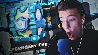 DOBIO SAM LEGENDARY CHEST! | Clash Royale #2