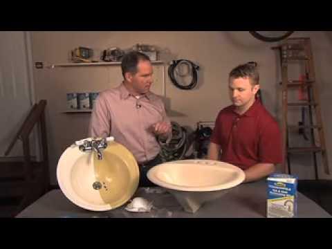 Homax Tough As Tile Tub And Sink Refinishing Kit YouTube