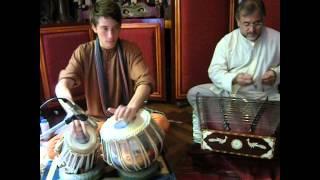 Solo de tabla Improvisación en Teental (16 beats)